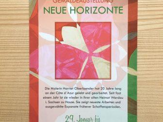 """""""Neue Horizonte"""" Ausstellung Dresden"""